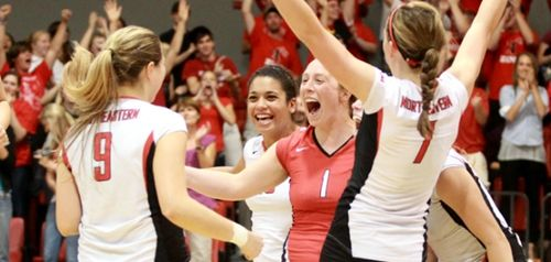 NU Women's Volleyball